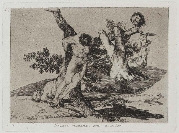 Goya Grande Hazana con Muertos