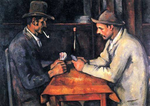 Paul_Cézanne the card players